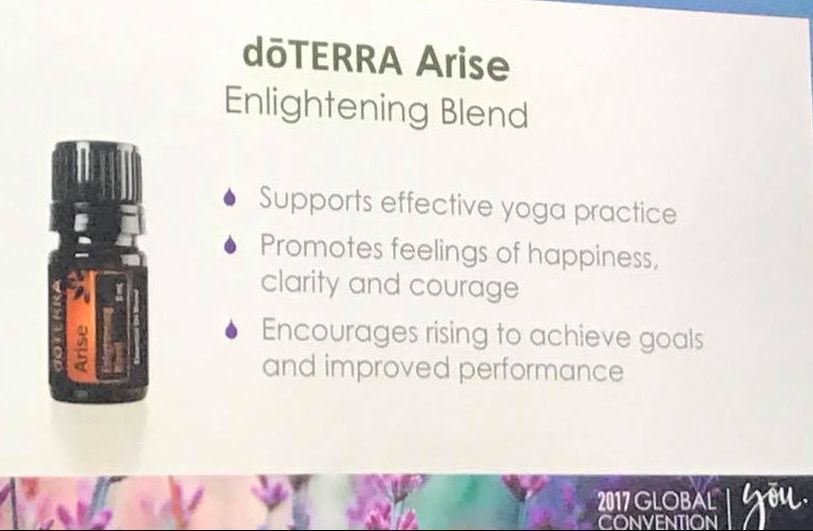 doTERRA Arise Yoga Oils