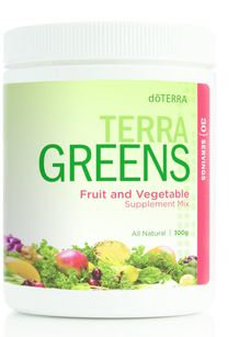 How to buy doTERRA Essential Oils Terra Greens and enjoy more fruits and vegetables in your diet!