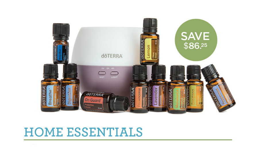 Get a doTERRA account with a kit and SAVE while you also earn points for free oils!